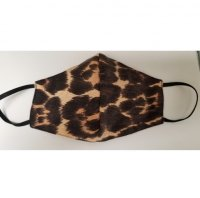 Cheetah Double Layered Face Mask
