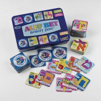 Alef Bet Memory Game in Collectible Tin