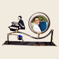 Bar Mitzvah Picture Frame, by Gary Rosenthal