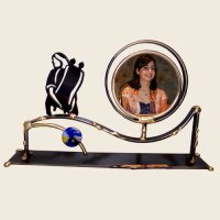 Bat Mitzvah Picture Frame, by Gary Rosenthal