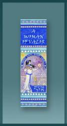 Woman of Valor Car Mezuzah, by Mickie Caspi