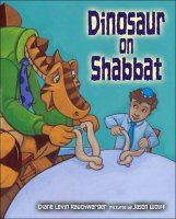 Dinosaur on Shabbat, by Diane Levin Rauchwerger