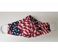 US Flag Double Layered Face Mask