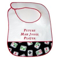 Future Mah Jongg Player Bib