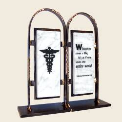 Medical Doctor Bookends, by Gary Rosenthal