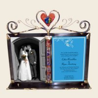 Double Wedding & Invitation Frame, by Gary Rosenthal