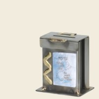 New Baby Tzedakah Box, small, by Gary Rosenthal