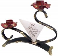 Flowering Wedding Candlesticks, by Gary Rosenthal