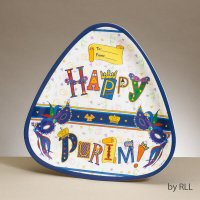 Happy Purim Melamine Plate