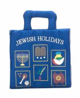 Jewish Holidays Plush Book