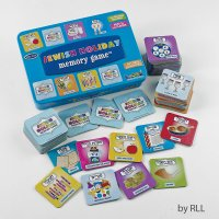 Jewish Holiday Memory Game in a Tin