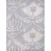 Tablecloth with Matching Challah Cover 60/ 90