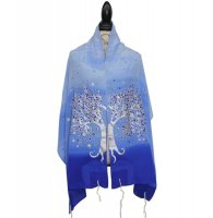 Silk Bijoux Joy Tallit Set, Holland Blue