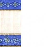 Judaic Traditions Paper Tablecover