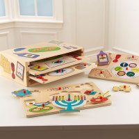 Kid Kraft Holiday Puzzle Set