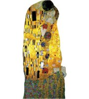 The Kiss, by Klimt Card
