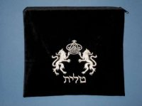 Tallit Bag, Lions of Judah