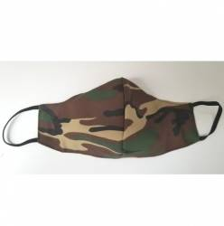 Camouflage Double Layered Face Mask