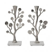 Botanical Leaf Candlesticks, by Michael Aram