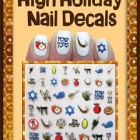 Midrash Manicures High Holidays Nail Decals