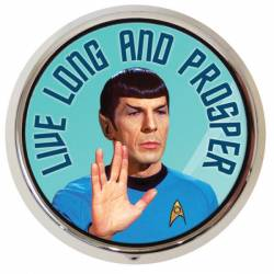 Live Long and Prosper- Mr. Spock Pill Box