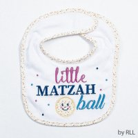 Little Matzah Ball Bib
