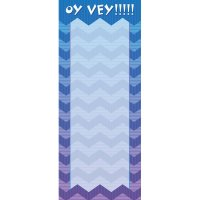 Oy Vey!! Shopping List Pad
