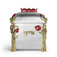 Pomegranate Tzedakah Box, by Quest