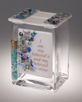 Beloved Wedding Tzedakah Box, by Sara Beames