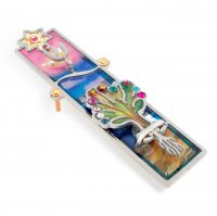 3D Tree of Life Mezuzah, by Seeka