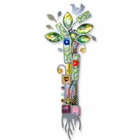Blessed Tree of Life Mezuzah, by Seeka
