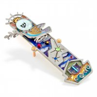 Dove Noah's Ark Mezuzah, by Seeka