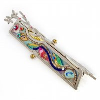 Etz Chaim Tree of Life Mezuzah, by Seeka