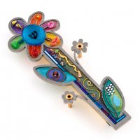 Flower Mezuzah, by Seeka