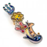 Noah's Ark Mezuzah, by Seeka