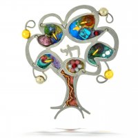 Tree of Life Chai Pin, by Seeka