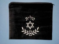Tallit Bag, Star & Branch