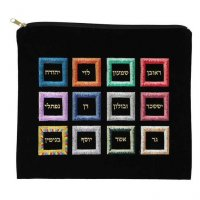 Tallit Bag Black Ultra Suede, Twelve Tribes
