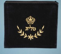 Tallit Bag, Crown & Branch