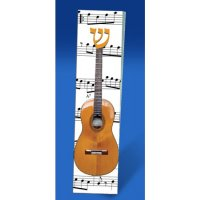 Acoustic Guitar Mezuzah, by Tamara Baskin