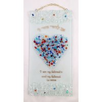 Ani L Dodi Crushed Jewel Heart, by Tamara Baskin