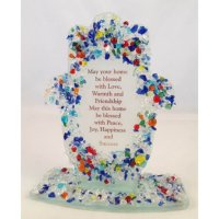 Jewels Hamsa Home Blessing-Free Standing, by Tamara Baskin