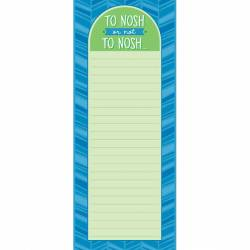 To Nosh or Not To Nosh Shopping List Pad
