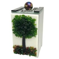 Tree of Life Tzedakah Box, by Tamara Baskin