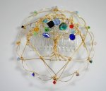 Women's Beaded Wire Kippot