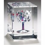 Broken Chuppah Wedding Glass