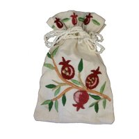 Silk Embroidered Spice Bag, by Yair Emanuel