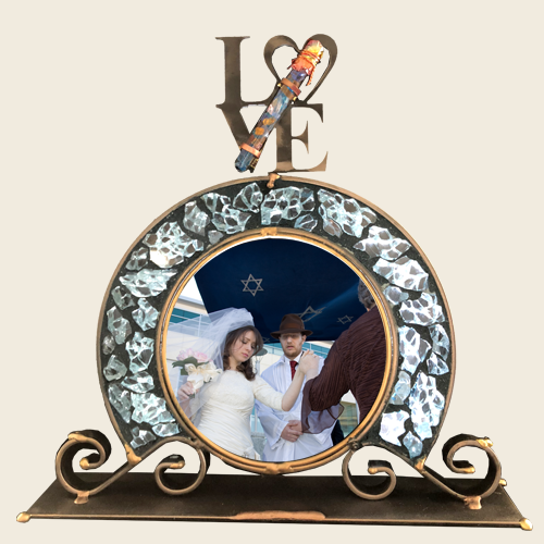 Crystal Collection Archway Wedding Frame