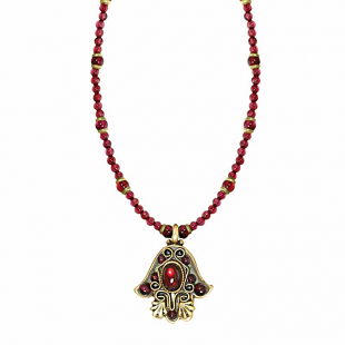 Small Hamsa Necklaces