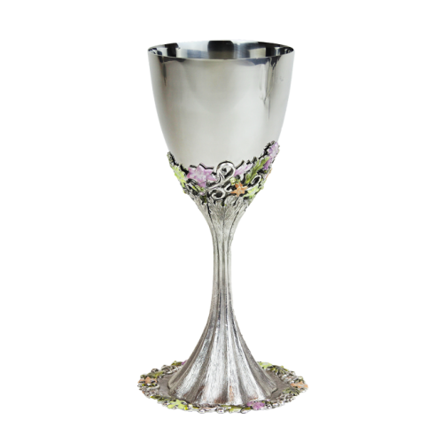 Freesia Kiddush Cup, by Quest